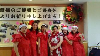 2018.12.22(sat)紀水苑さんでクリスマスに参加について