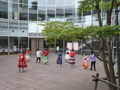 文化祭にてフラ体験コーナー2016.10.23について