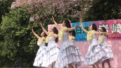 岩崎城の春まつりで踊ってきました!について